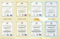 获得ISO认证体系和OHSES